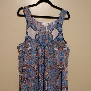 Sleeveless Signature Dress by Robbie Bee Size 14